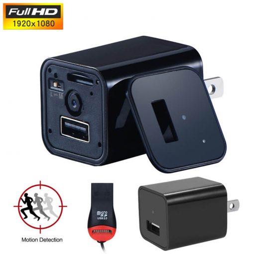 Spy Camera USB Wall Charger