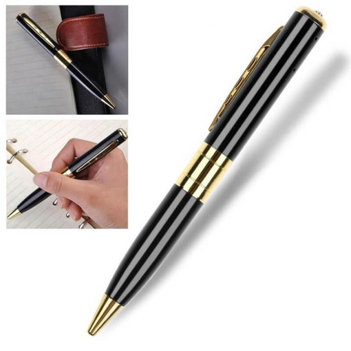 Working pen with spy cam