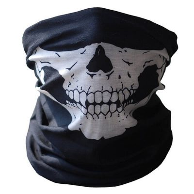 Skull Half Face Bandana