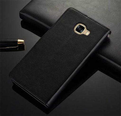 Black Leather wallet case