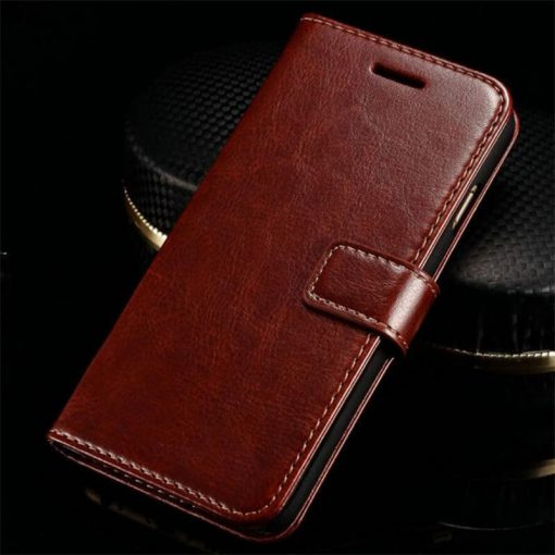 Brown Leather wallet case