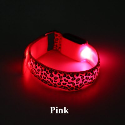 Pink Leopard Arm LED