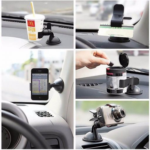 mobil holder with clip